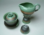 Jade Porcelain Tea Set